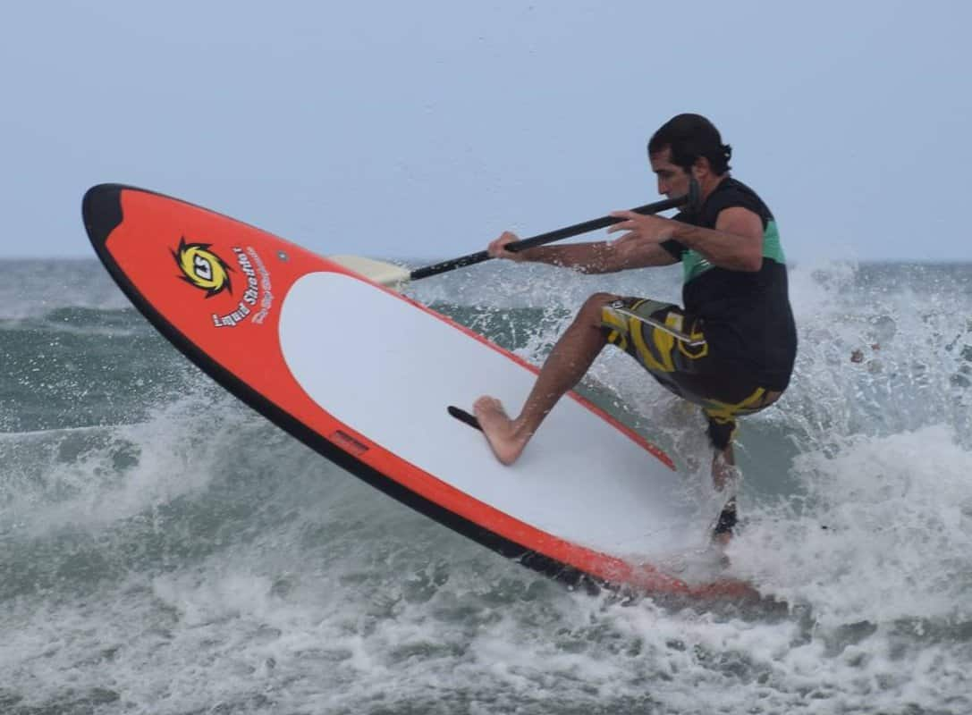 Pro Series Peru Paddleboards by Liquid Shredder in action