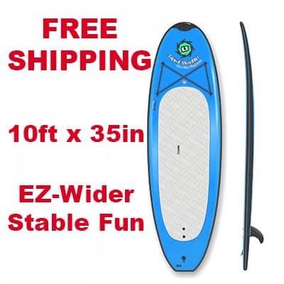 10ft SUP Easy Wider PaddleBoard