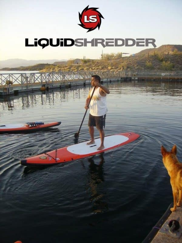 Liquid Shredder touring SUP 12ft