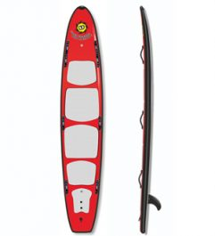 12ft HD Rescue Hybrid Soft SUP Surfboard