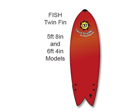 twin fin fish surfboards