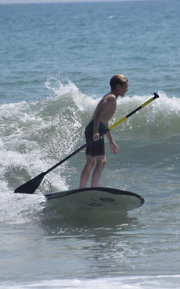 Best beginner SUPs for kids Liquid Shredder