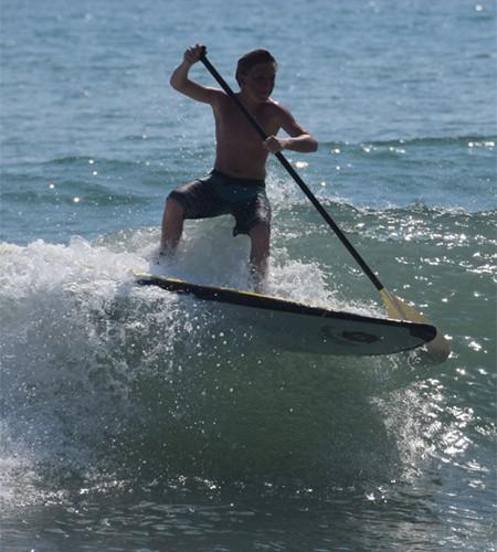 Best safe paddleboards for kids Liquid Shredder