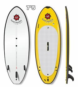 Liquid Shredder 7ft 5in SUPer SUP PaddleBoard