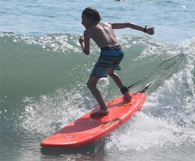 7ft EZ-Slider soft surfboard