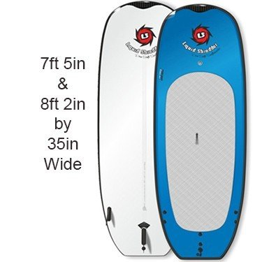 Wide stand up paddle boards