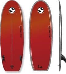 Liquid Shredder 5ft 5in Suntech Black Ball Hybrid SoftBoard