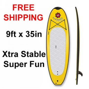 9ft SUP Beamer Yoga PaddleBoard SUP Free Shipping