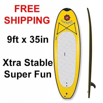 9ft SUP Beamer Yoga PaddleBoard SUP Free Shipping