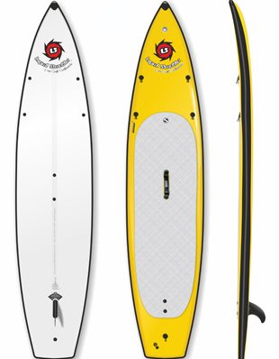 Liquid Shredder SUP for flatwater touring 12ft