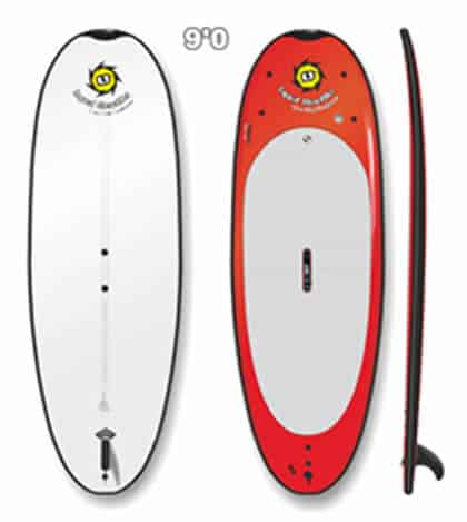 Liquid Shredder 9ft SUP Beamer PaddleBoard