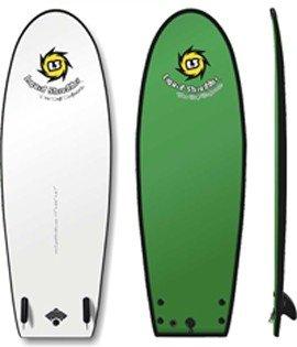 5ft 5in HD Black Ball Soft SurfBoard Beater Liquid Shredder