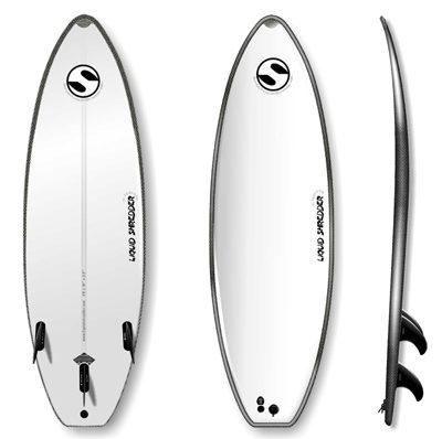 Suntech Shortboard by Liquid Shredder