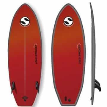 Twin Fin Surfboard Liquid Shredder