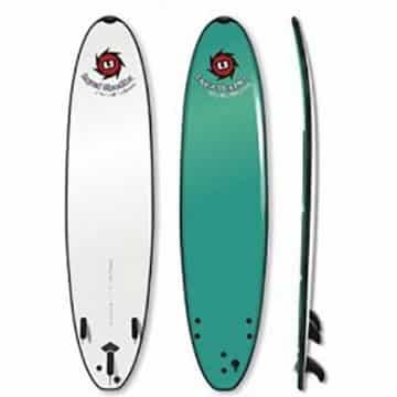 7ft 5in HD School Soft Surfboard Liquid Shredder
