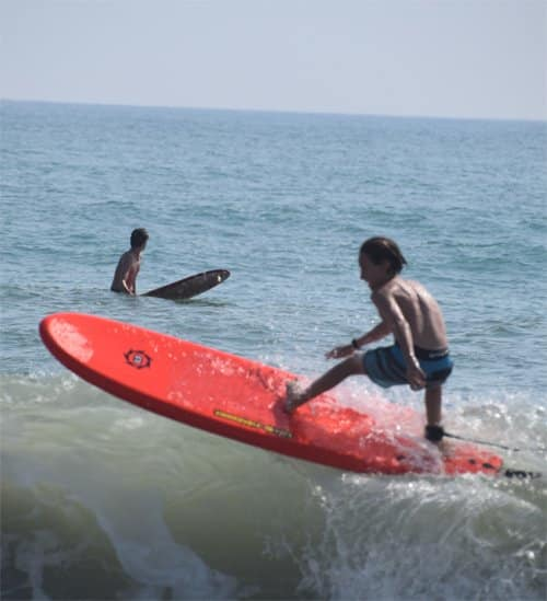 Liquid Shredder softboards for kids
