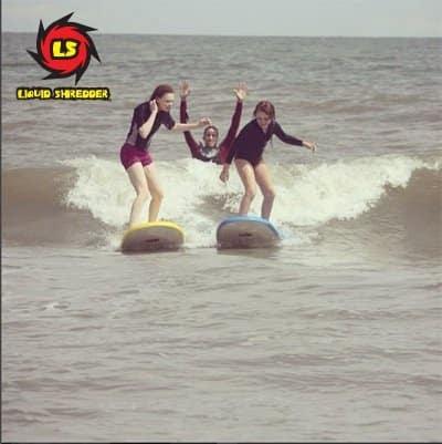 surf lessons Liquid Shredder