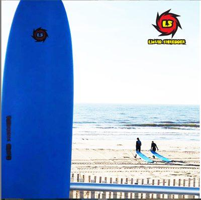 soft top surfboards Liquid Shredder