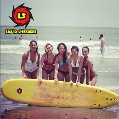 surf camp surfboards Liquid Shredder