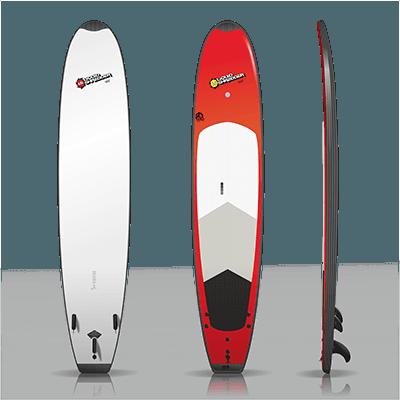 10ft HD School Soft Surfboard Liquid Shredder