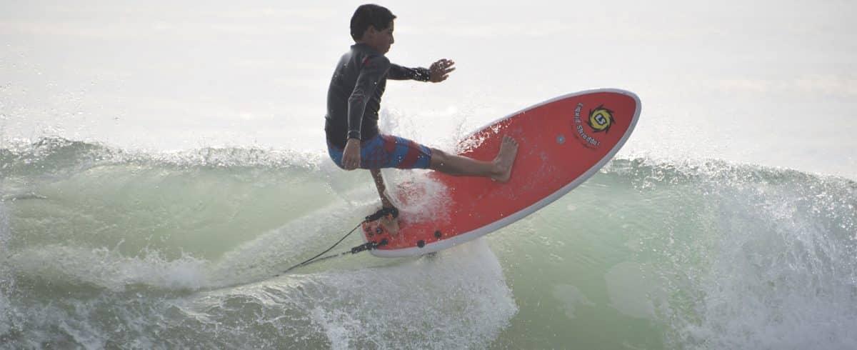 Soft Hybrid Surfboards by Liquid Shredder