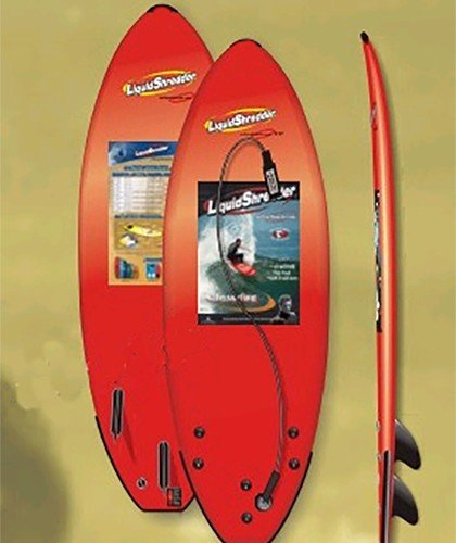 Liquid Shredder Element Softboard Red
