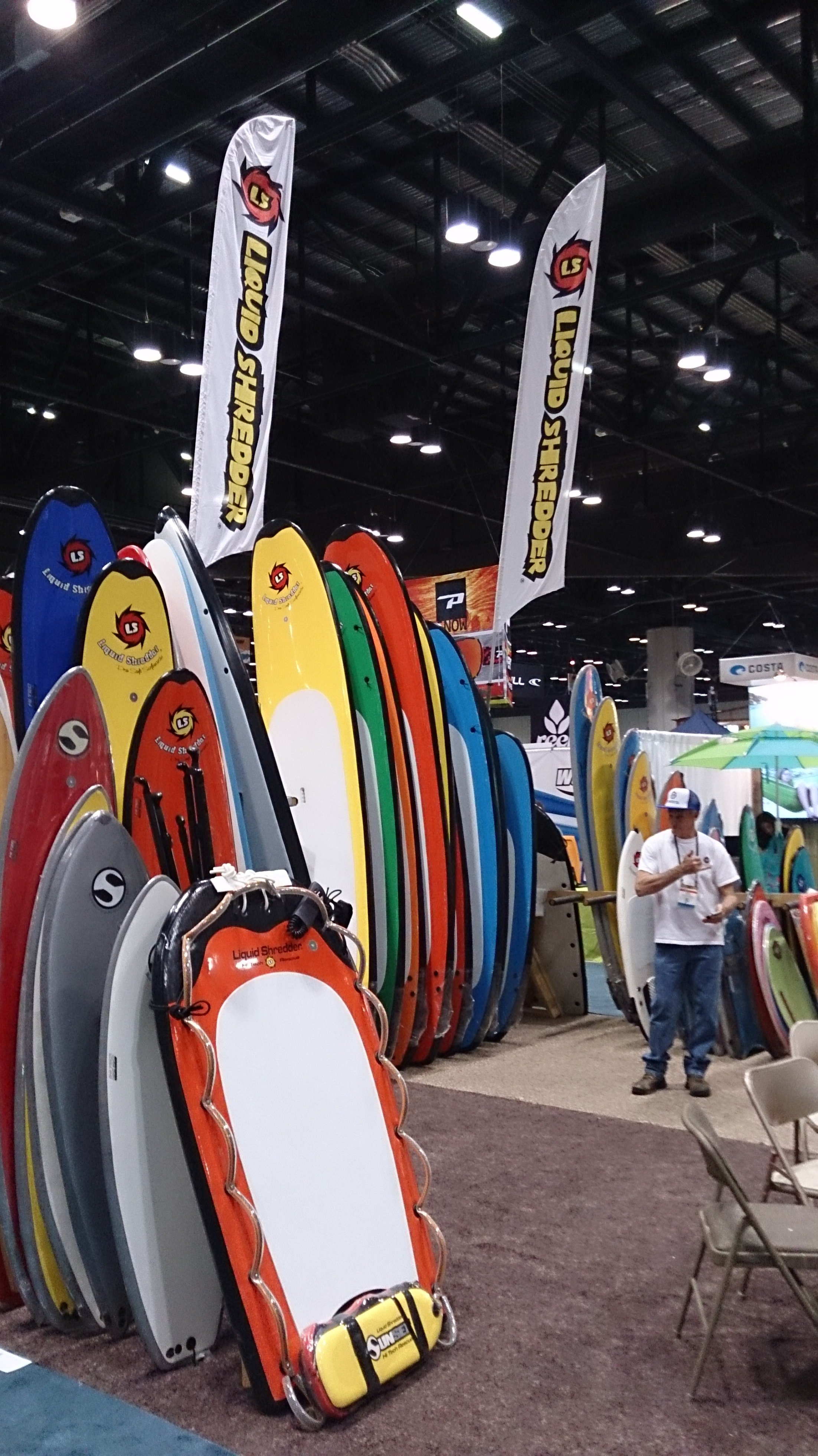 Surf Expo with Liqud Shredder
