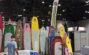 Surf Expo Booth Liquid Shredder