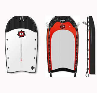 PWC Tow-In Rescue Sleds