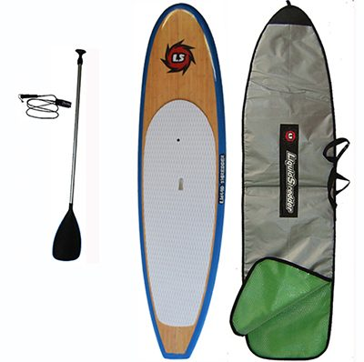 Bamboo paddleboards