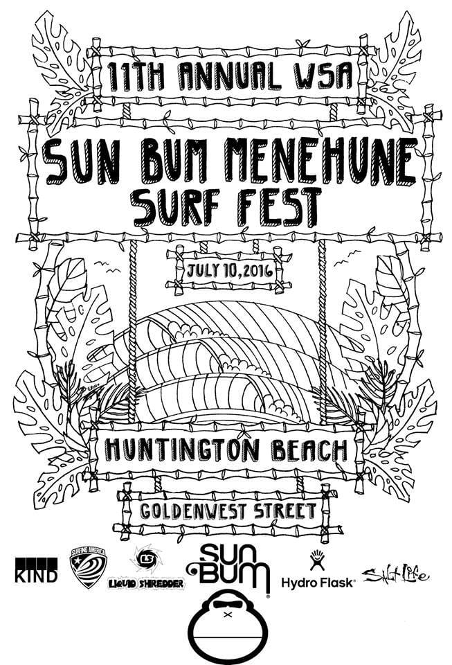 11th Annual Sun Bum Menehune Surf Fest presented by Liquid Shredder