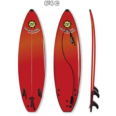 6ft 4in Element Soft Surfboard Classic Liquid Shredder