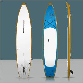 12ft Fishing SUP PaddleBoards Wood Rub Rail
