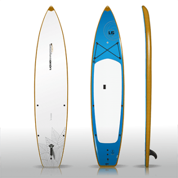12ft Fishing SUP PaddleBoards Wood Rub Rail