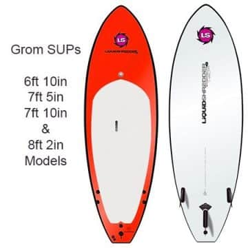 SUPer Grom SUP Paddleboards Liquid Shredder