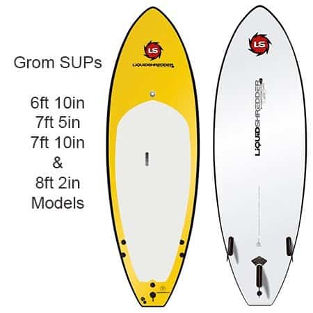 Kids standup paddleboards