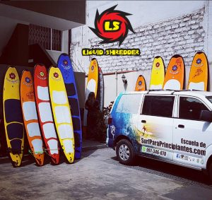 beginner surfboards by Liquid Shredder