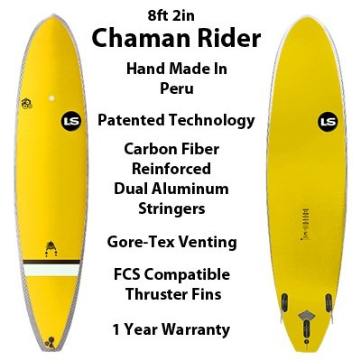 Chaman Rider High Tech Soft Top SurfBoards