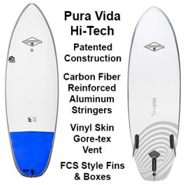 Pura Vida Hi-Tech SoftBoards Liquid Shredder