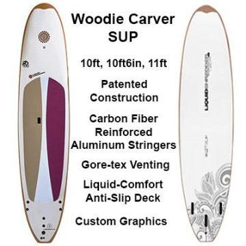 12ft Woody SUP Carver SUP PaddleBoards