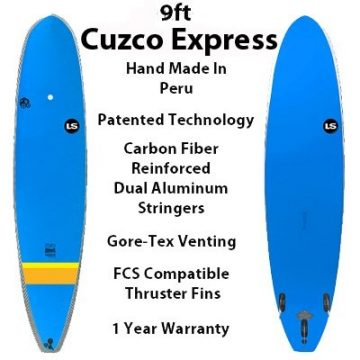Cuzco Express High Tech Soft SurfBoards Longboard