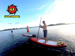 Touring on Liquid Shredder SUP Paddleboards