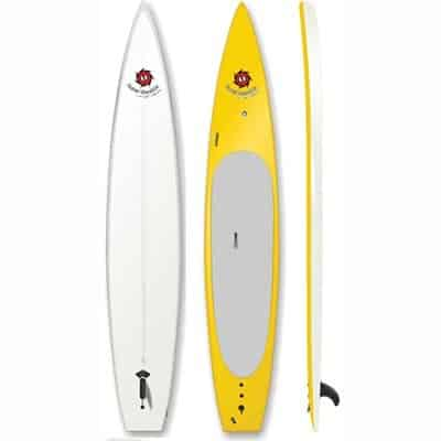 14ft Race Hybrid Soft SUP PaddleBoard Yellow