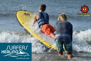 LS Supports Surfers Healing for Autism Folly Beach SC