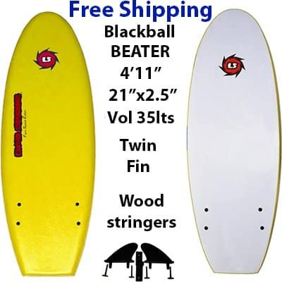 EZ Slider Blackball Beater Blackball Beater Softboard