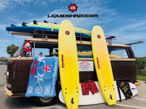 Surf Instructors Use Liquid Shredder