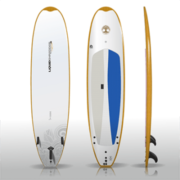 10ft Woodie Carver SUP PaddleBoards Liquid Shredder