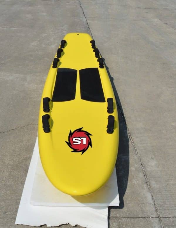 10ft 6in Epoxy Rescue Surfboard Liquid Shredder