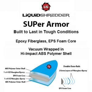 SUPer Armor Paddleboards Epoxy ABS SUPs