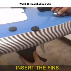 How to install beginner surfboard fins